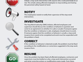 STOP Work Authority