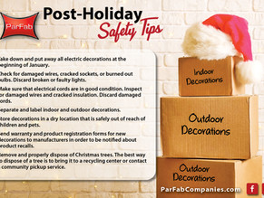 Post-Holiday Safety Tips
