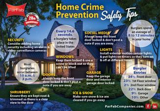 Home Crime Prevention Tips