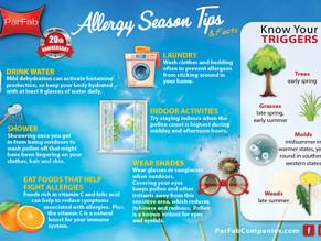 Allergy Season Tips & Facts