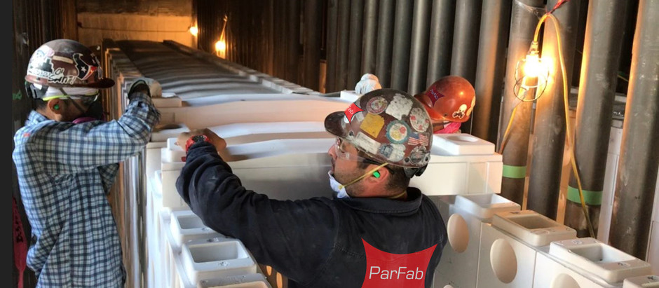 Team ParFab Successfully Installs Blasch Stablox Tunnel System