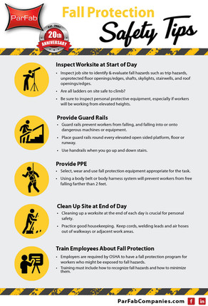 Fall Protection Safety Tips