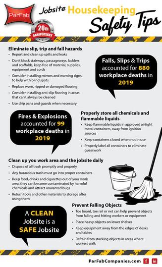 Jobsite Housekeeping Tips