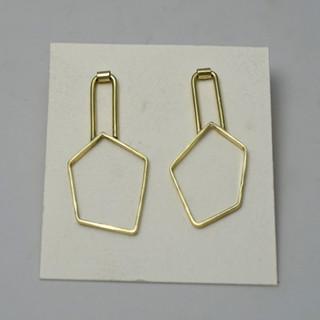 Asymmetric Polygon Earrings