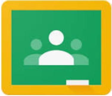 Google Classroom - Online classroom area