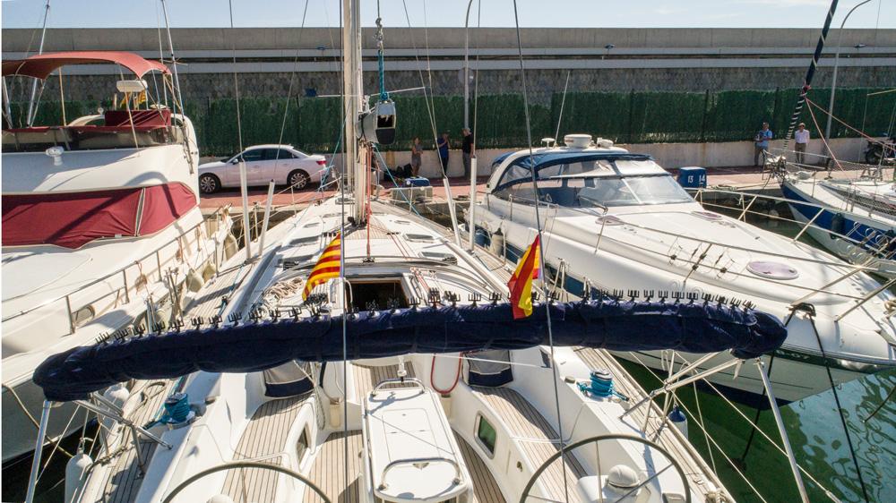 StopGull Bimini SailBoat