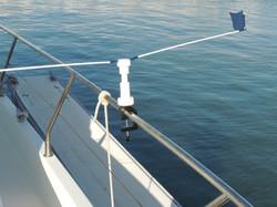 Stopgull Handrail support Vertical way