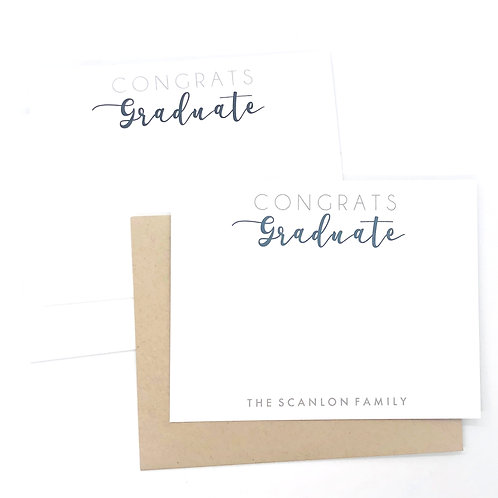 congrats graduate stacked