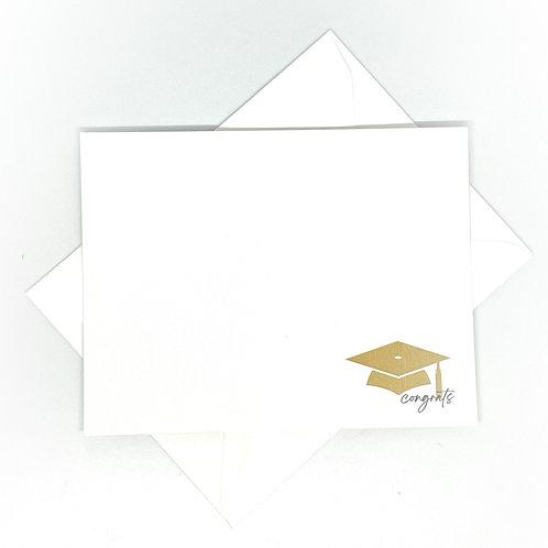 large gold cap