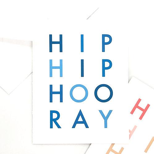 hip hip hooray blues folded