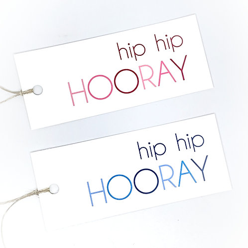 large hip hip hooray ombre