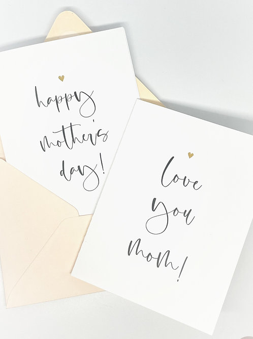 happy mother's day (set of 2)