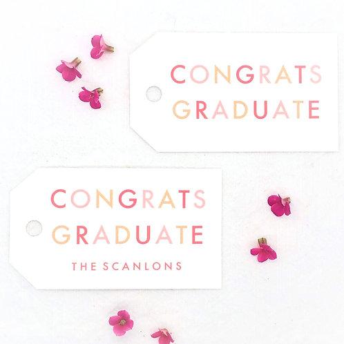 congrats graduate red