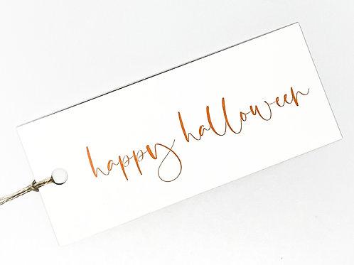 happy halloween script
