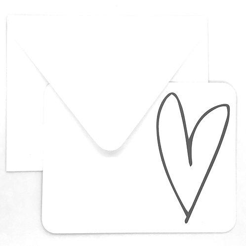 big heart (set of 12)