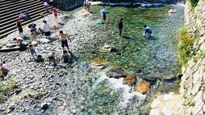 夏だ! 暑いぞ! 川遊びだ!! からくり人形だっ!!!渋川親水公園がオモシロイっ!!