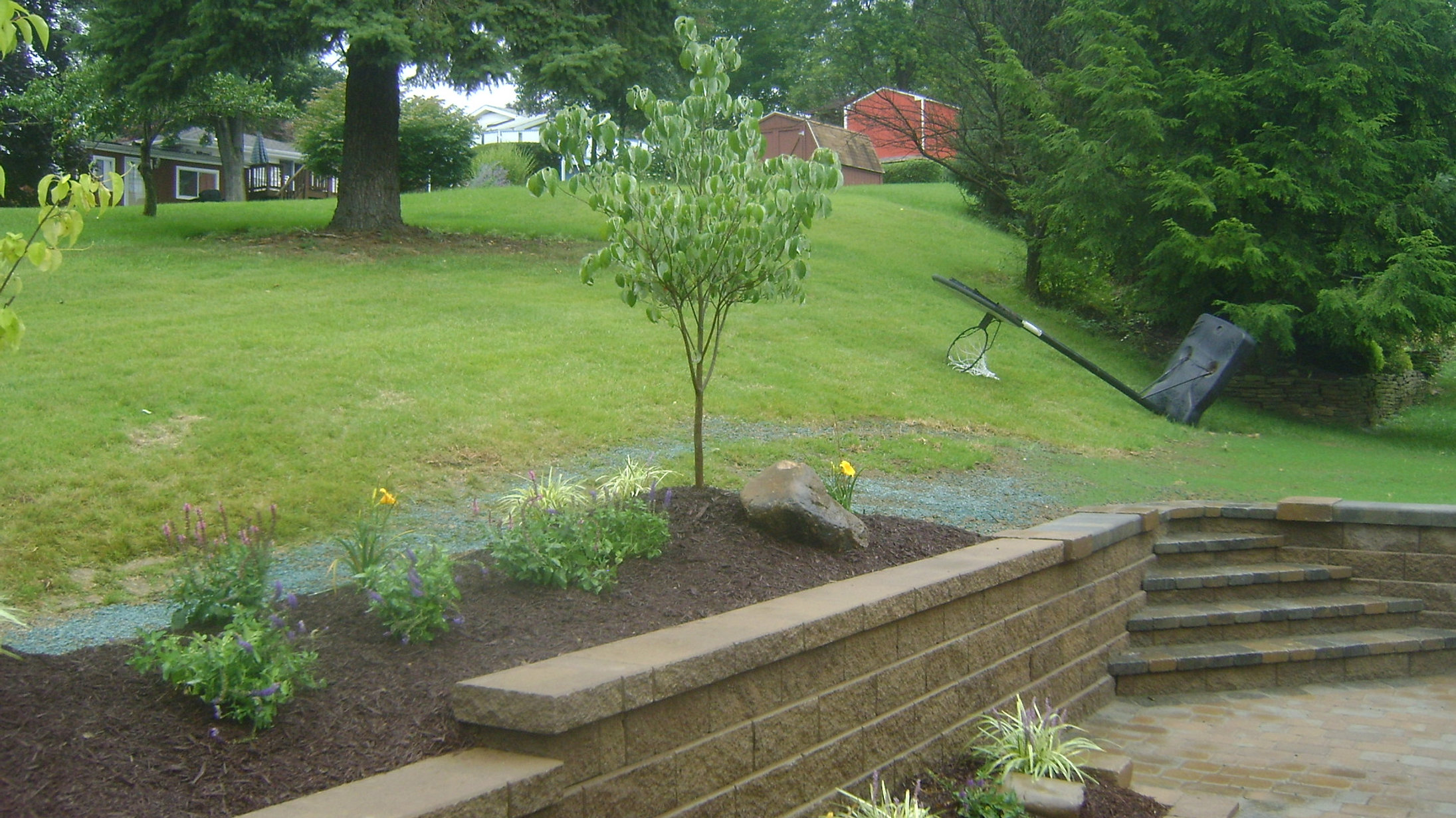 pittsburgh outdoor living retainning walls