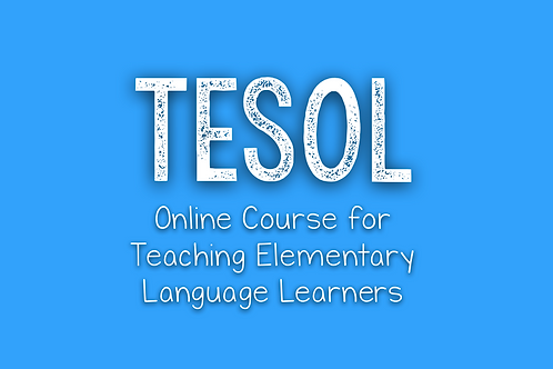TESOL Course (from IOA)
