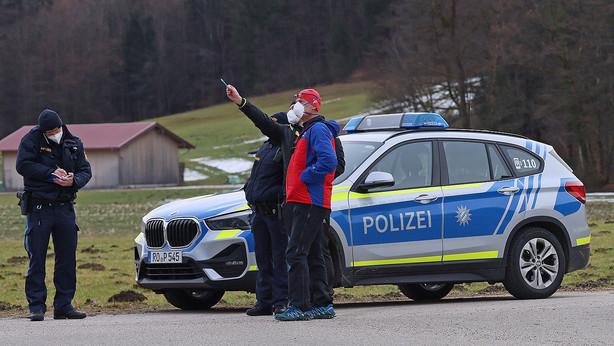🚨06.02.2021 Bergwacht und Polizei klären Lichtquellen am Fuderheuberg ab