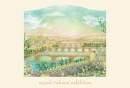 高折みゆき展~庭で育てた草花の花びらで描いた情景画~