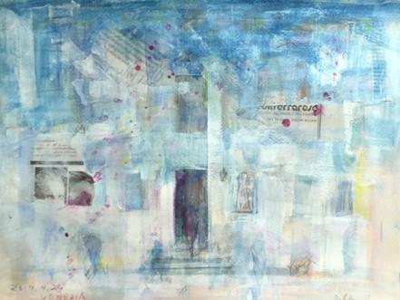 ーヴェネチアで想うー  石上 誠  絵画展