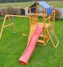 Детские площадки из высококачественного дерева