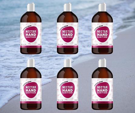 500ml  Liquid Hand Sanitiser - 6 Pack