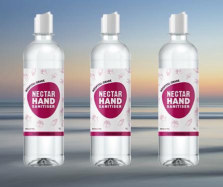 1L Liquid Hand Sanitiser Refill - 3 Pack