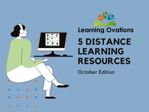 Top 5 Distance Learning Resources: October Edition!
