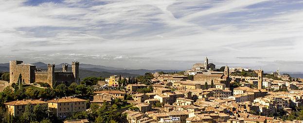 Panorama Montalcino Siena