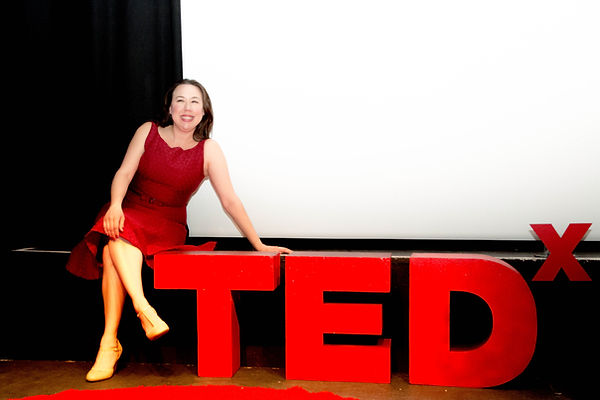 TEDx Mary Poffenroth London Myth of Fearlessness