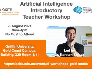 Artificial Intelligence Teacher Workshop Gold Coast