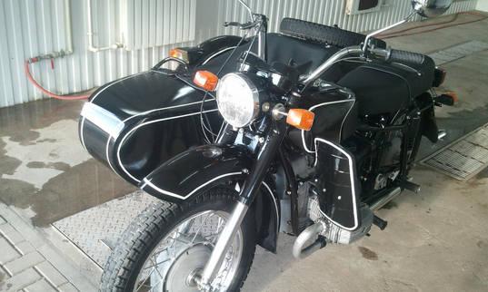 Мотоцикл после полной покраск