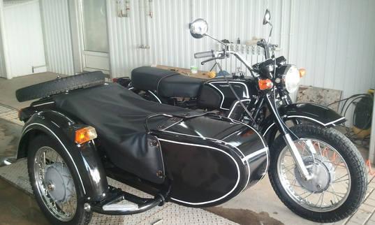 Мотоцикл после порошковой покраски