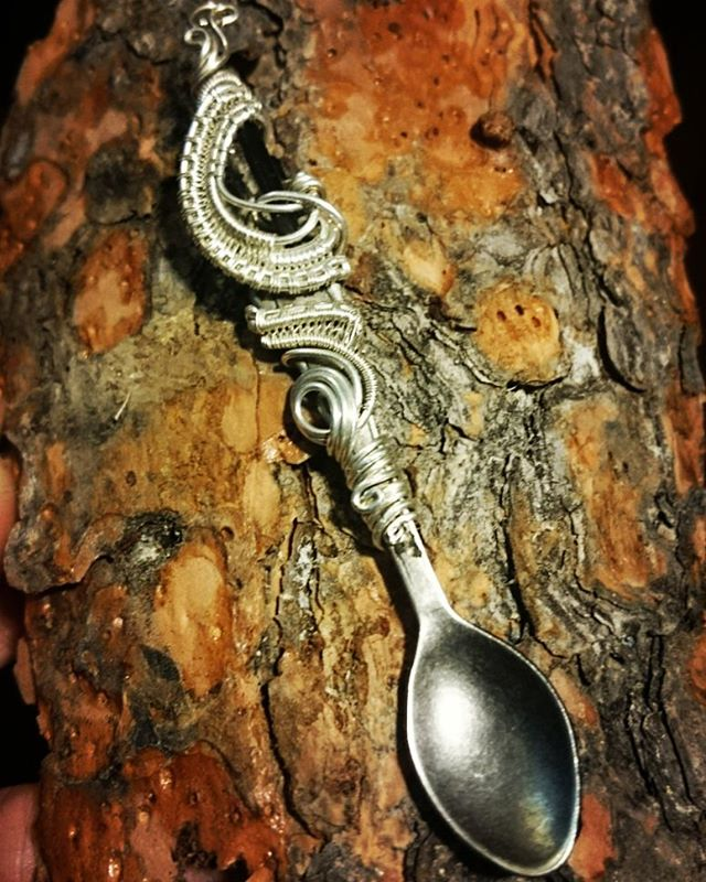 Wirewrapped Spoon