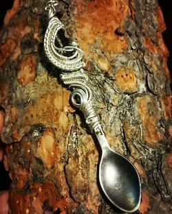 Wirewrapped Spoon