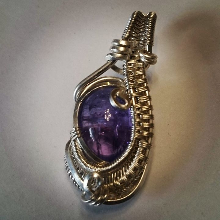 #sterling #silver #wirewrapped #minipendant #tanzanite #sterlingsilver #pendant #wirewrap #wireart #