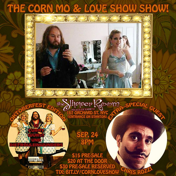The Corn Mo & The Love Show Show Septemb