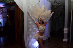 White Feather Showgirl