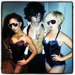 Prince and Backup Dancers