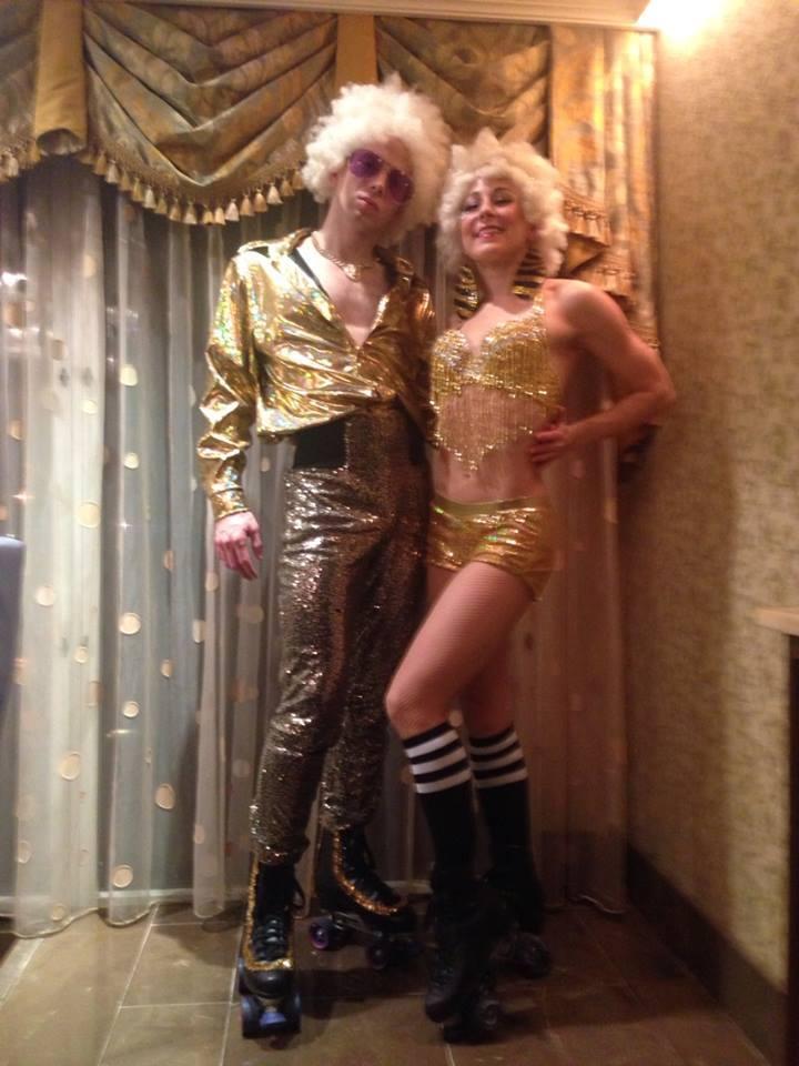 Roller Disco Gold