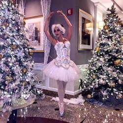 White Snow Ballerina