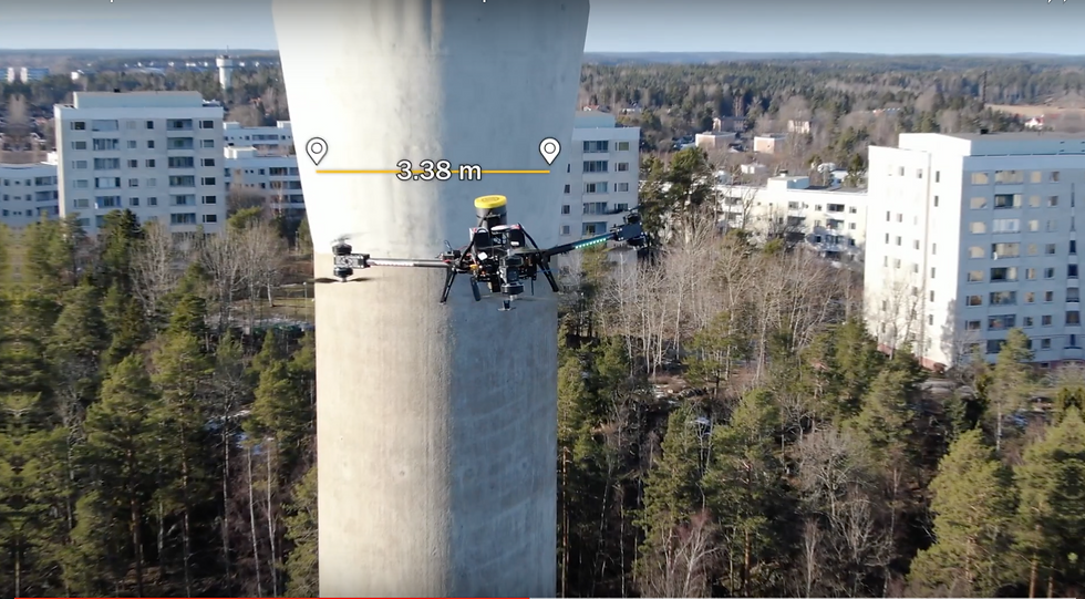 Drone_Inspection_Nordic_AB_Vattentorn_Dr
