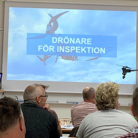"""Betongutbildningen där Gustav presenterade """"Drönare för inspektion"""""""