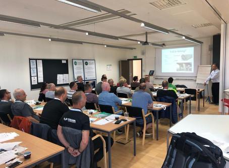 Utbildning ytskydd: Metall, 5/11. Miljömässigt och kvalitetssäkert underhåll av k-märkta stålytor.