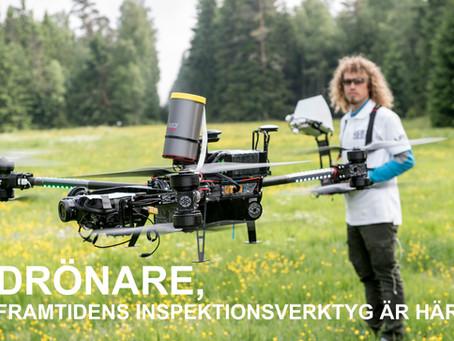 """Om Gustav och föredraget """"Drönare, framtidens inspektionsverktyg är här!"""" på Ytskyddsdagarna 2020"""