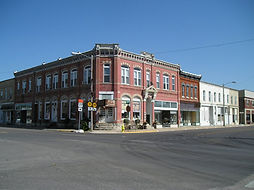 Downtown Frankfort, KS