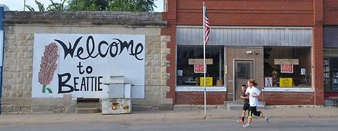 Beattie, KS - the Milo Capital of Kansas