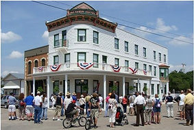 Historic Weaver Hotel in Waterville, KS