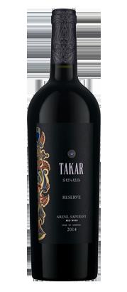Armenia Wine - Takar Reserve - Areni, Saperav